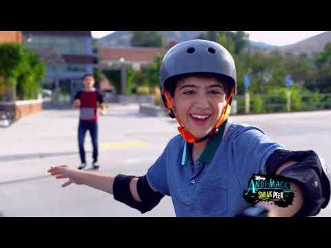Jonah and Cyrus Skateboard! Sneak Peek | Andi Mack | Disney Channel
