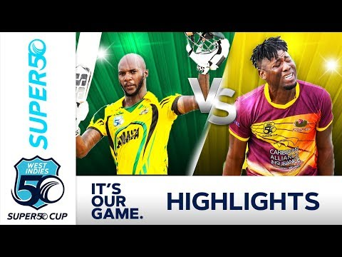 Jermaine Blackwood Hits Century | Jamaica v Leewards | Super