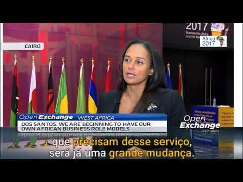 Isabel dos Santos @ CNBC Africa