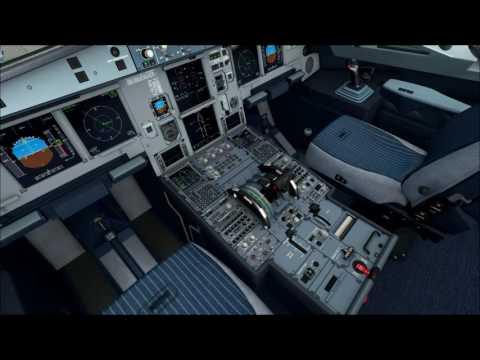 [FSX] LGAV Athens - LGTS Thessaloniki with Aerosoft Airbus A320