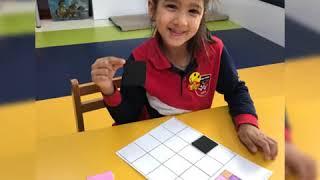 Anasınıfı 6 yaş B /Matematik / Renk ve konum kodlama