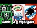 Video Gol Pertandingan Sassuolo vs Sampdoria