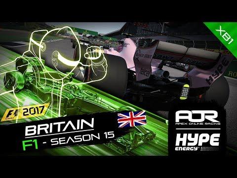 F1 2017 | AOR Hype Energy F1 League | XB1 | S15 | R6: British GP