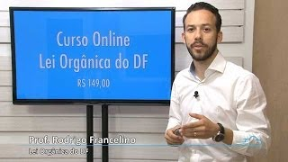 Lei Orgânica do DF para SES/DF e SE/DF