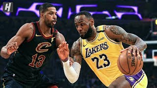 Cleveland Cavaliers vs Los Angeles Lakers - Full Highlights | January 13, 2020 | 2019-20 NBA Season