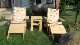 Diy Outside Furniture Series--adirondack Chair