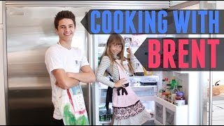Cooking with Brent (w/ Nicolette) | Brent Rivera