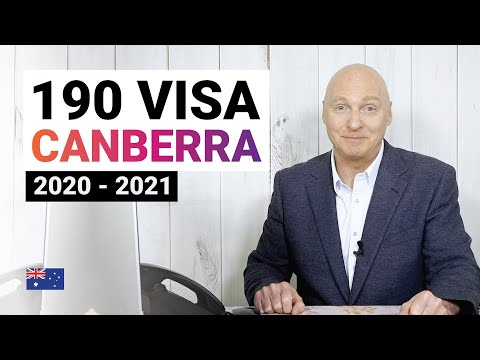 Canberra (ACT) 190 Visa 2020 - 2021. Nomination Requirements & Application