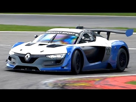 Renault Sport R.S. 01 Sounds, Acceleration U0026 Backfire   Testing At  Spa Francorchamps!