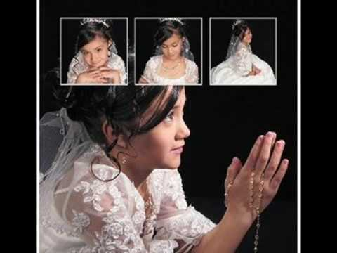 Luisa Fernanda Venegas First Communion