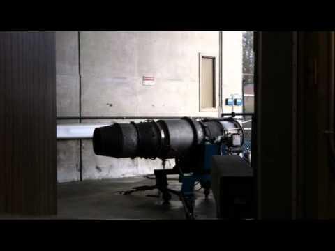Running a JT-12 engine
