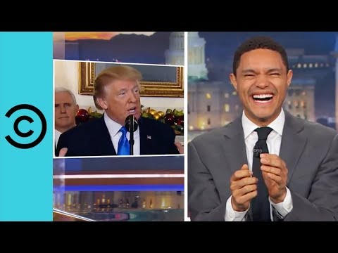 Download Youtube: President Donald Trump Can't Keep Hish Dentures In Hish Mouth | The Daily Show