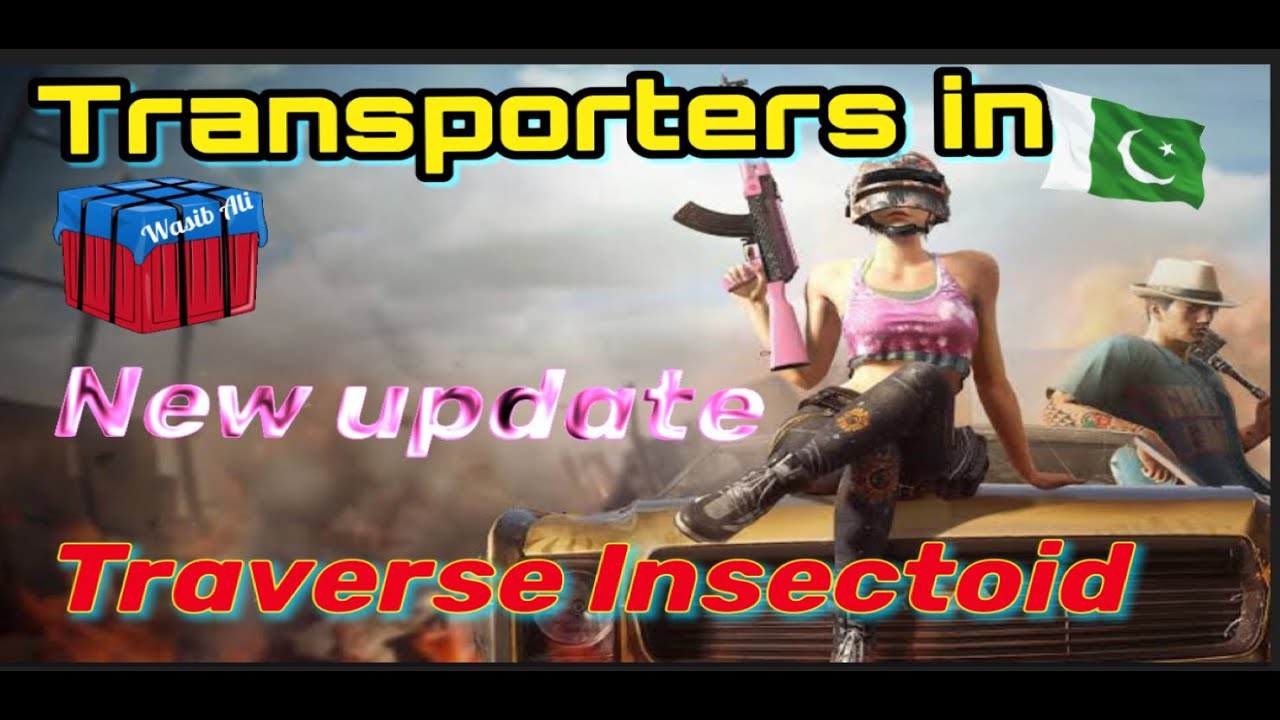 Download #pubg New Laboratory Insect Transporters In Traverse Insectoid Mode Pubg mobile|New Update Gameplay.