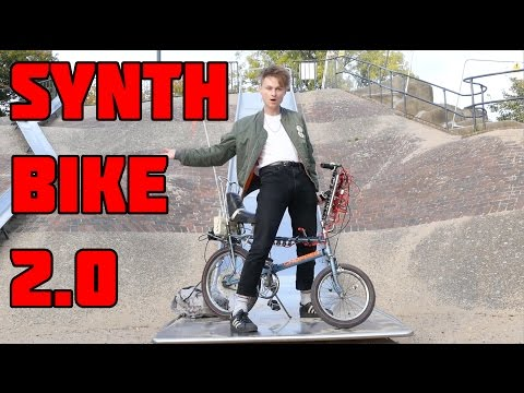SYNTH BIKE 2.0 SYNTHESISER LOOK MUM NO COMPUTER
