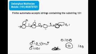 Deterministic Finite Automata ( DFA ) construction with Examples and solution Part 2