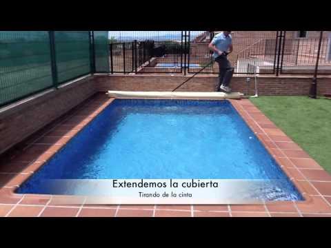 Cubierta barras para piscina.mov