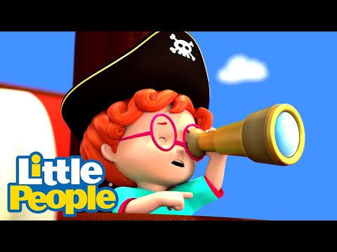 Fisher Price Little People | Adventure through the seven seas | Fun Compilation | Kids Movies