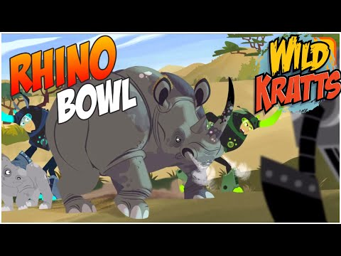 Wild Kratts Rhino Bowl ⭐️ Wild Kratts Game ⭐️ PBS Kids Games