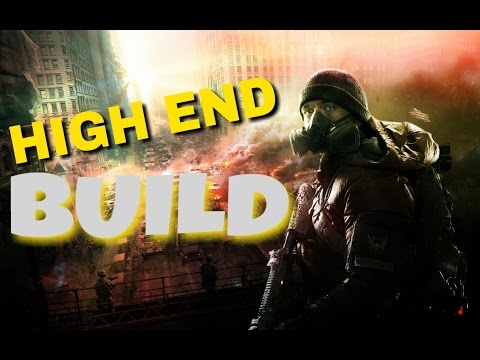 THE ALL HIGH END BUILD (The Division) 1.5 Dark Zone PvP Gameplay