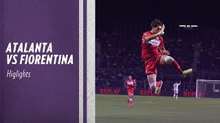 Higlights Atalanta vs Fiorentina 1 - 2 (Vlahovic 2, Zapata)