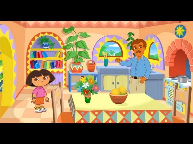 Dora the Explorer - La casa de Dora in a New Movie Episode Gameplay Travel Video