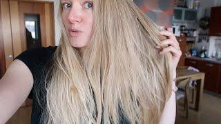 КРАСОТА в карантине КРАШУ волосы брови ресницы ДОМА Промежуточный результат FINISH IT