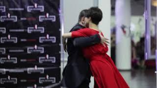 Аргентинское танго - ученики Ирины Остроумовой (Мария и Анатолий)