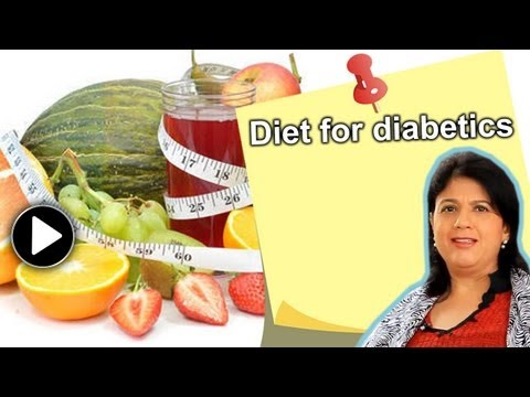 Diet for diabetics - dos and don'ts by expert dietician Naini Setalvad