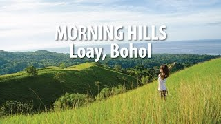Morning Hills (Himontagon Hills) Loay, Bohol Philippines