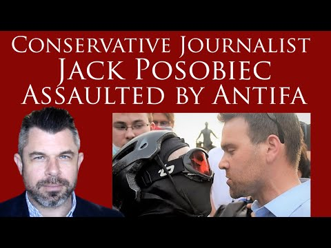 Conservative Journalist Jack Posobiec Assaulted by Antifa