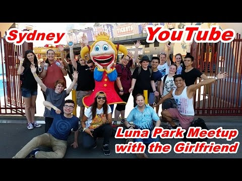 Sydney YouTube Luna Park Meetup with the Girlfriend