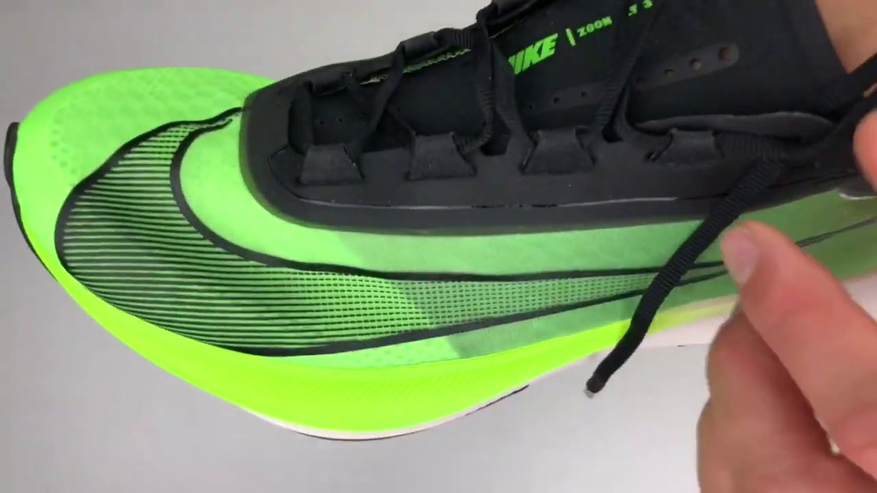 Nike Zoom Fly 3 'Electric Green/Black