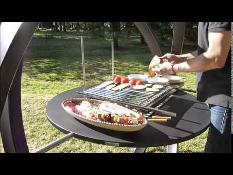 trendy barbecue cesarr vido kara with truffaut barbecue. Black Bedroom Furniture Sets. Home Design Ideas