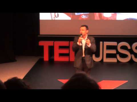 Three Steps to Happiness: Adrian Hayes at TEDxJESS