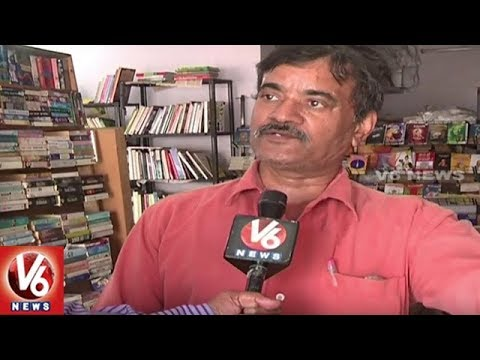 Bookstores In Hyderabad Now Selling Second Hand Books By Weight | V6 News