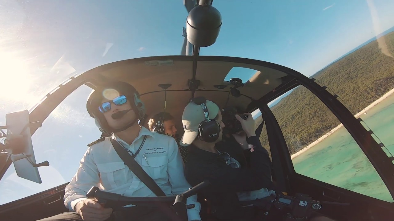 Scenic Helicopter Flights | Tangalooma Moreton Island Activities