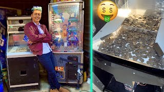 Buying My First ARCADE Machines!! *NEW* Location!