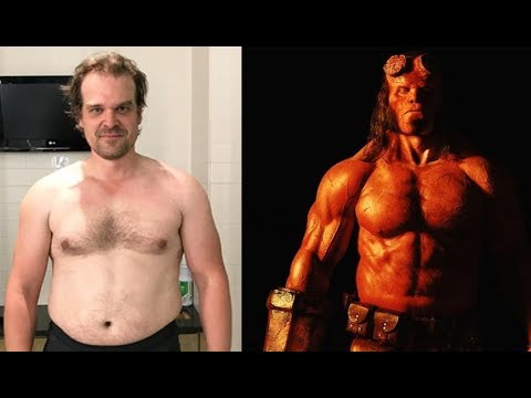 David Harbour Gym Work...