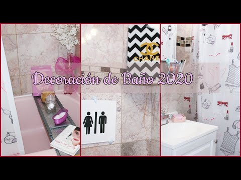 IDEAS PARA DECORAR UN BAÑO PEQUEÑO 2020/SMALL BATHROOM MAKEOVER ON BUDGET