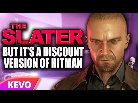 The Slater but it's a discount version of hitman