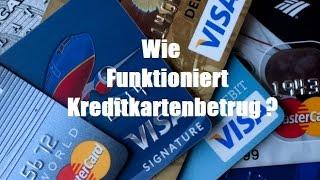 Wie funktioniert Kreditkartenbetrug ?