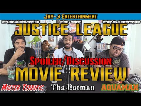 Justice League Spoiler/Discussion MOVIE REVIEW