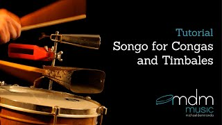 Songo for congas and timbales by Michael de Miranda