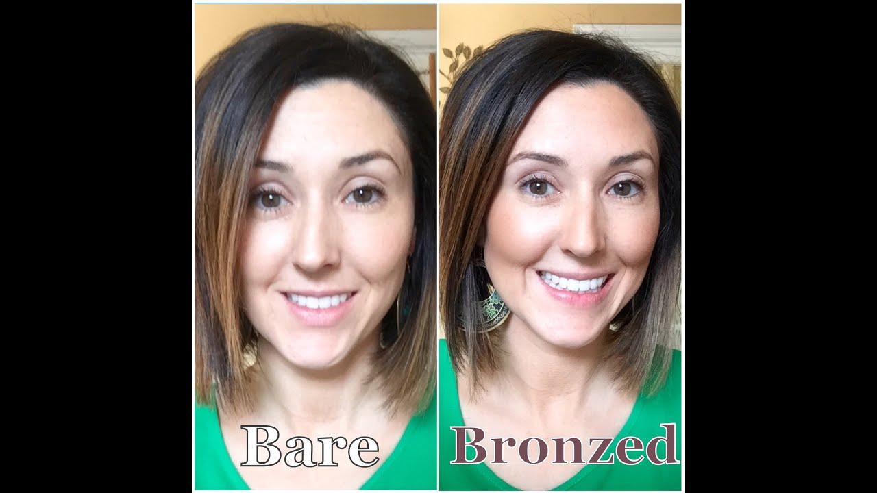 How To Apply Bronzer Younique Beachfront Bronzer By Younique Demo With  Tips And Tricks Youtube