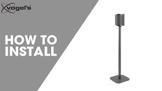 How To install SOUND 4301   speaker mount   Vogel's