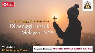 LIVE IBADAH SYUKUR AWAL TAHUN | MINGGU, 17 JANUARI 2021 | GKJW TANJUNG PERAK