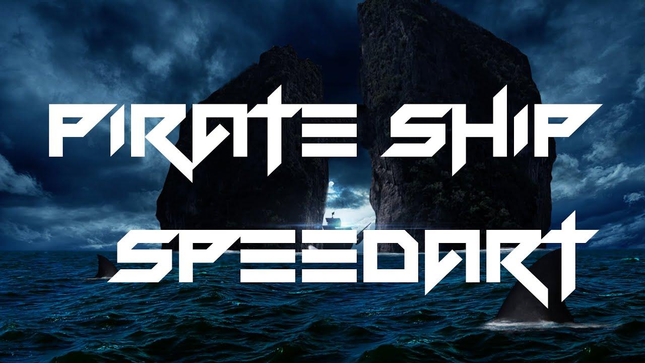 Speedart - Pirates ship Wallpaper - YouTube
