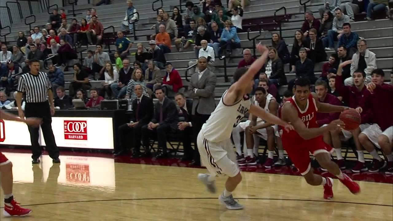 Game Recap: Harvard Men's Basketball vs. McGill - Nov. 7 ...