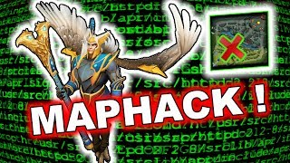 Skywrath Mage using Dota 2 MAPHACK! + Other Cheats! 7.06d