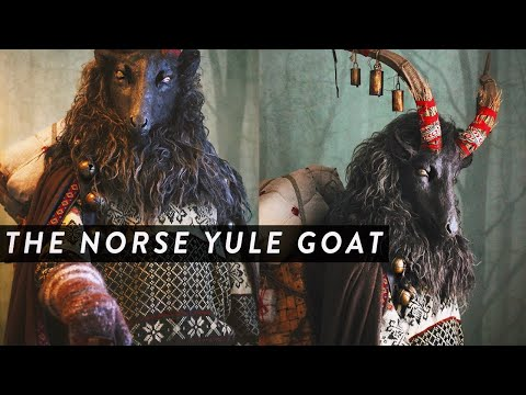 The Norse Yule Goat || Pagan Yule Traditions